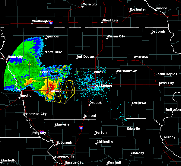 Radar Image for Severe Thunderstorms near Greenfield, IA at 6/28/2018 11:05 AM CDT