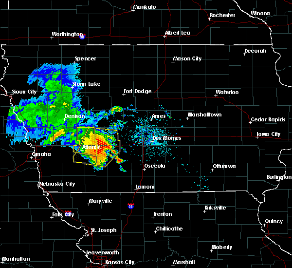 Radar Image for Severe Thunderstorms near Orient, IA at 6/28/2018 11:29 AM CDT