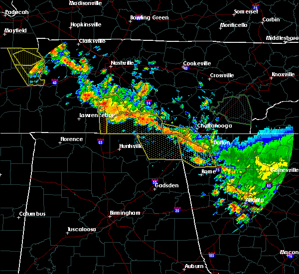 Radar Image for Severe Thunderstorms near Calhoun, GA at 6/28/2018 12:42 PM EDT