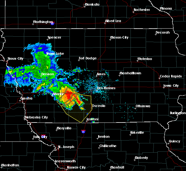 Radar Image for Severe Thunderstorms near Osceola, IA at 6/28/2018 11:42 AM CDT