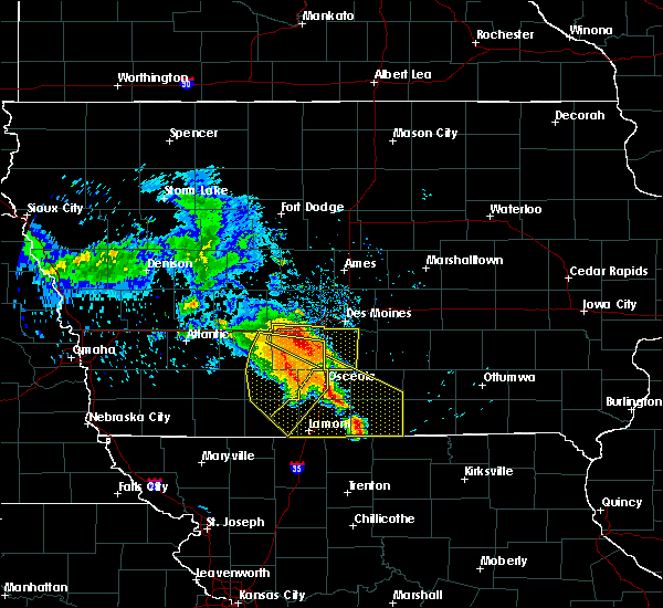 Radar Image for Severe Thunderstorms near Osceola, IA at 6/28/2018 12:07 PM CDT