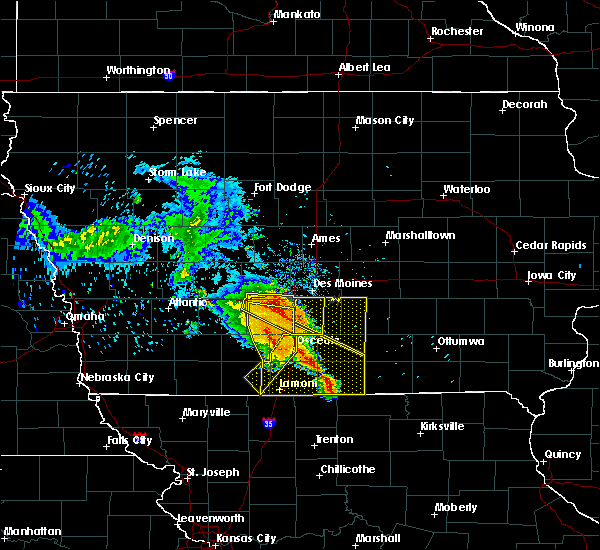Radar Image for Severe Thunderstorms near Osceola, IA at 6/28/2018 12:19 PM CDT