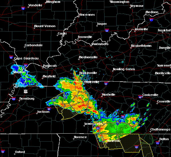 Radar Image for Severe Thunderstorms near Linden, TN at 6/28/2018 12:32 PM CDT