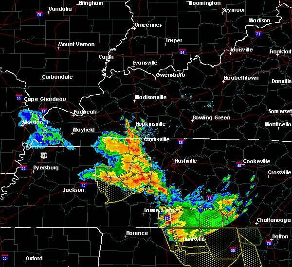 Radar Image for Severe Thunderstorms near Wrigley, TN at 6/28/2018 12:37 PM CDT