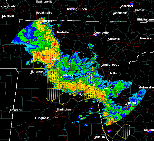 Radar Image for Severe Thunderstorms near Minor Hill, TN at 6/28/2018 1:27 PM CDT