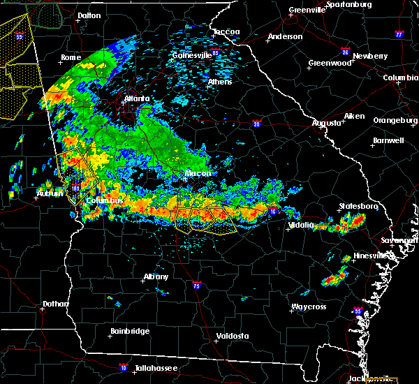 Radar Image for Severe Thunderstorms near Cochran, GA at 6/28/2018 2:49 PM EDT