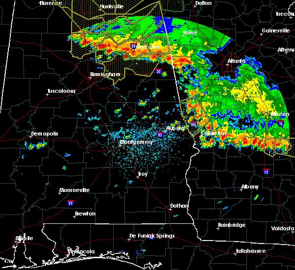 Radar Image for Severe Thunderstorms near Shiloh, GA at 6/28/2018 2:56 PM EDT