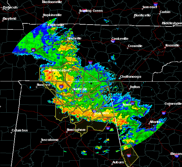 Radar Image for Severe Thunderstorms near Elkmont, AL at 6/28/2018 1:57 PM CDT