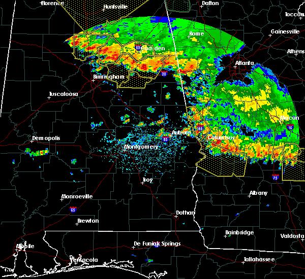 Radar Image for Severe Thunderstorms near Columbus, GA at 6/28/2018 3:12 PM EDT