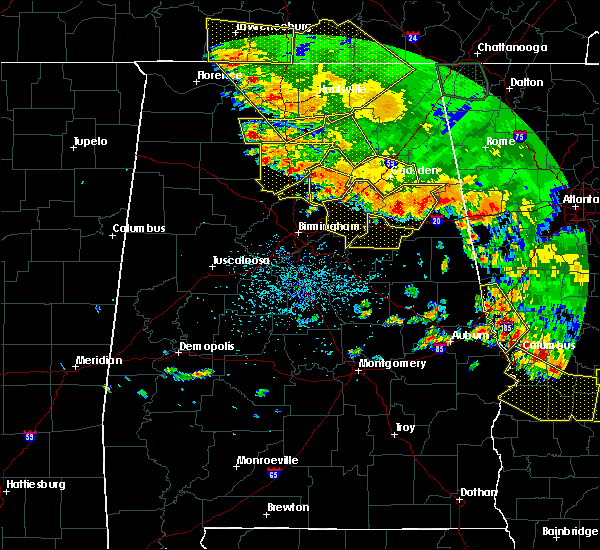 Radar Image for Severe Thunderstorms near Cleveland, AL at 6/28/2018 2:14 PM CDT