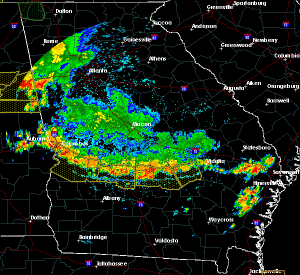 Radar Image for Severe Thunderstorms near Helena, GA at 6/28/2018 3:40 PM EDT