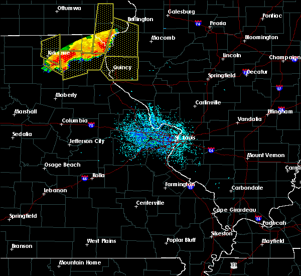Radar Image for Severe Thunderstorms near Quincy, IL at 6/28/2018 2:40 PM CDT