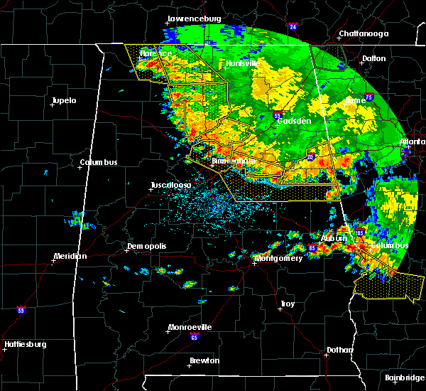 Radar Image for Severe Thunderstorms near Lincoln, AL at 6/28/2018 2:49 PM CDT