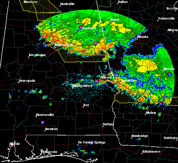 Radar Image for Severe Thunderstorms near Hissop, AL at 6/28/2018 2:52 PM CDT