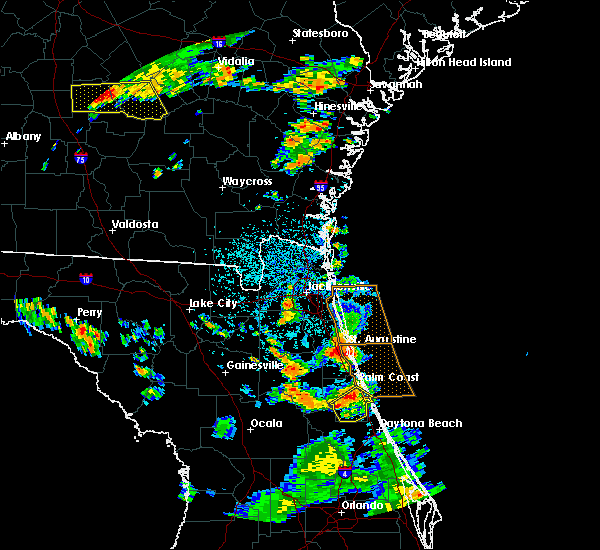 Radar Image for Severe Thunderstorms near Bunnell, FL at 6/28/2018 3:52 PM EDT