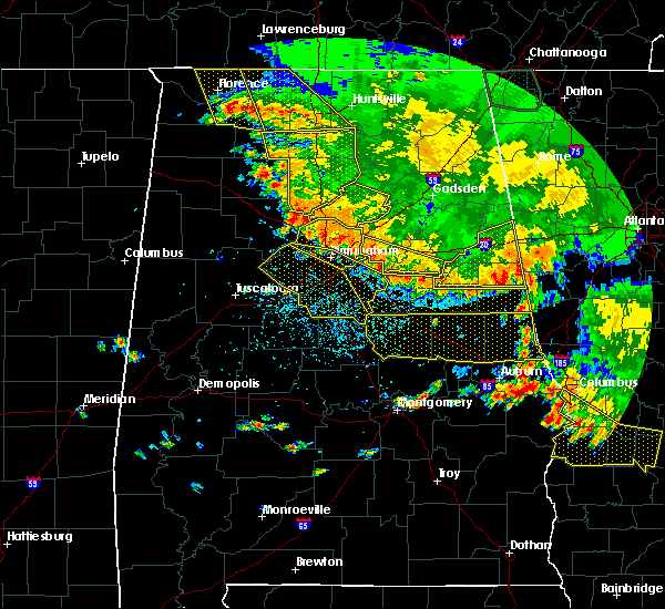 Radar Image for Severe Thunderstorms near Vincent, AL at 6/28/2018 2:58 PM CDT