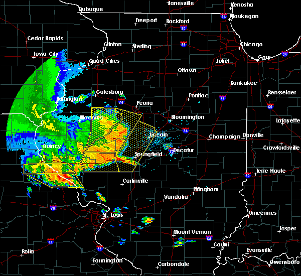 Radar Image for Severe Thunderstorms near Canton, IL at 6/28/2018 4:29 PM CDT