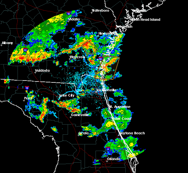 Radar Image for Severe Thunderstorms near Jesup, GA at 6/28/2018 5:41 PM EDT