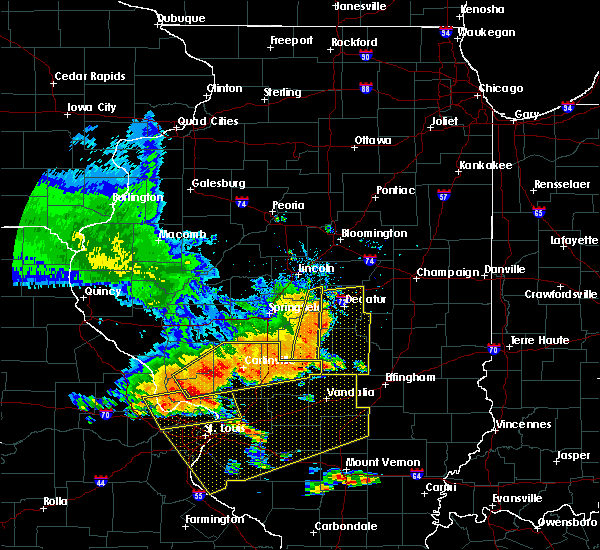 Radar Image for Severe Thunderstorms near Mount Zion, IL at 6/28/2018 5:30 PM CDT