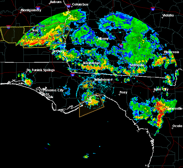 Radar Image for Severe Thunderstorms near Tallahassee, FL at 6/28/2018 6:43 PM EDT