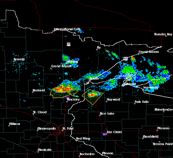 Radar Image for Severe Thunderstorms near Minong, WI at 6/28/2018 5:56 PM CDT