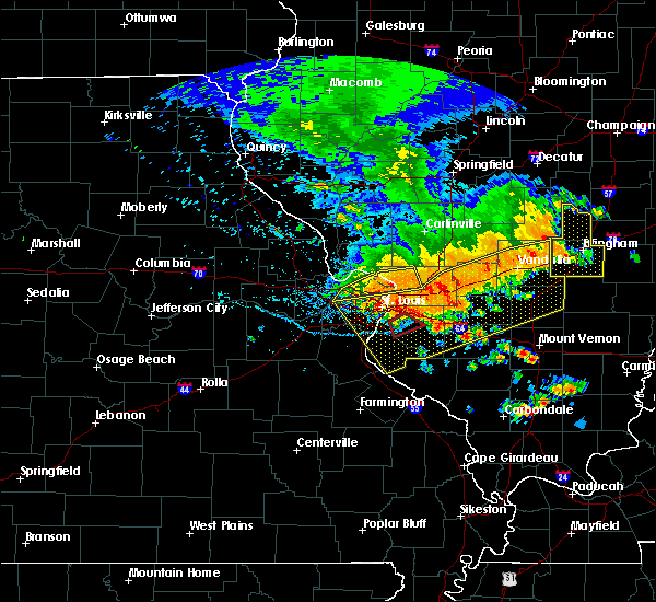 Radar Image for Severe Thunderstorms near Collinsville, IL at 6/28/2018 6:09 PM CDT