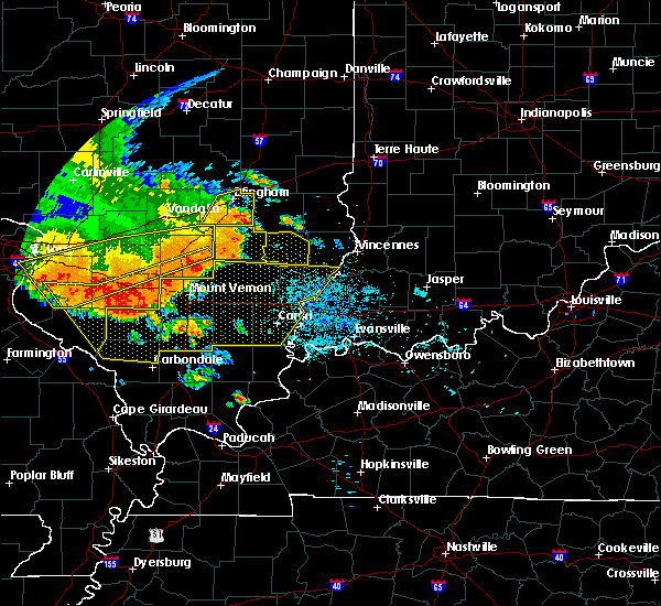 Radar Image for Severe Thunderstorms near Parkersburg, IL at 6/28/2018 6:43 PM CDT