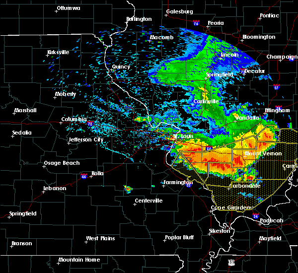 Radar Image for Severe Thunderstorms near Waterloo, IL at 6/28/2018 7:02 PM CDT