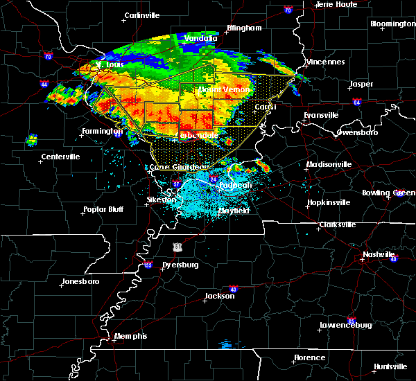 Radar Image for Severe Thunderstorms near Marion, IL at 6/28/2018 7:17 PM CDT