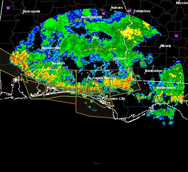 Radar Image for Severe Thunderstorms near Lynn Haven, FL at 6/28/2018 7:39 PM CDT