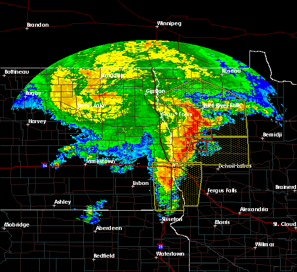 Radar Image for Severe Thunderstorms near Twin Valley, MN at 6/29/2018 4:48 AM CDT
