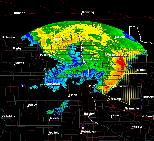 Radar Image for Severe Thunderstorms near Staples, MN at 6/29/2018 5:30 AM CDT