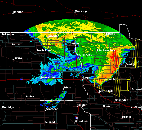 Radar Image for Severe Thunderstorms near Lake George, MN at 6/29/2018 5:39 AM CDT