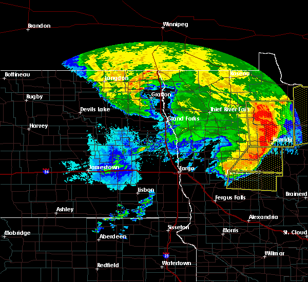 Radar Image for Severe Thunderstorms near Bemidji, MN at 6/29/2018 5:49 AM CDT