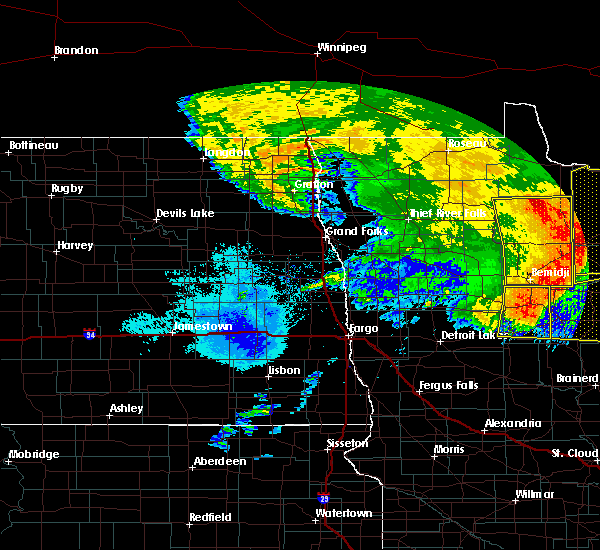 Radar Image for Severe Thunderstorms near Laporte, MN at 6/29/2018 6:07 AM CDT