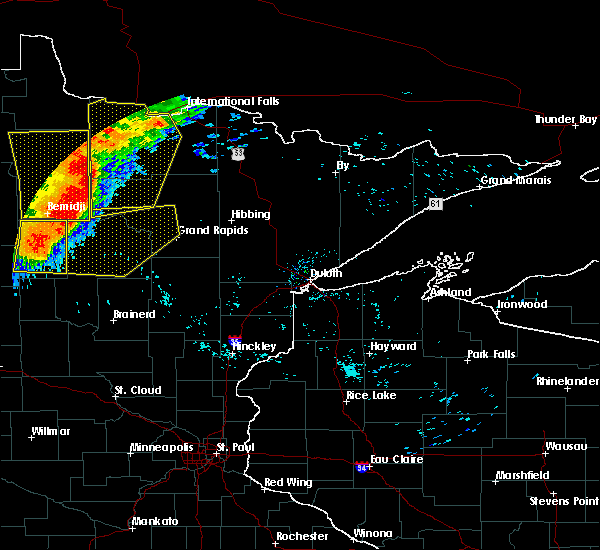 Radar Image for Severe Thunderstorms near La Prairie, MN at 6/29/2018 6:07 AM CDT
