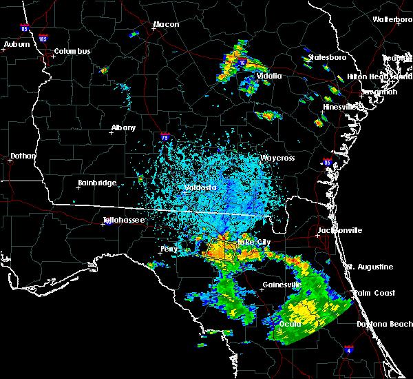 Radar Image for Severe Thunderstorms near Lake City, FL at 6/29/2018 6:26 PM EDT
