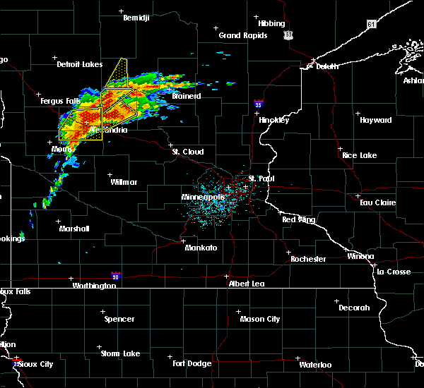 Radar Image for Severe Thunderstorms near Staples, MN at 6/30/2018 12:22 AM CDT