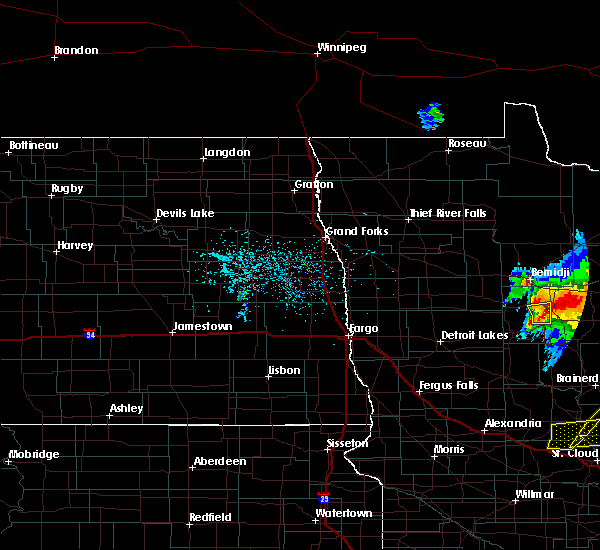 Radar Image for Severe Thunderstorms near Laporte, MN at 6/30/2018 2:17 AM CDT