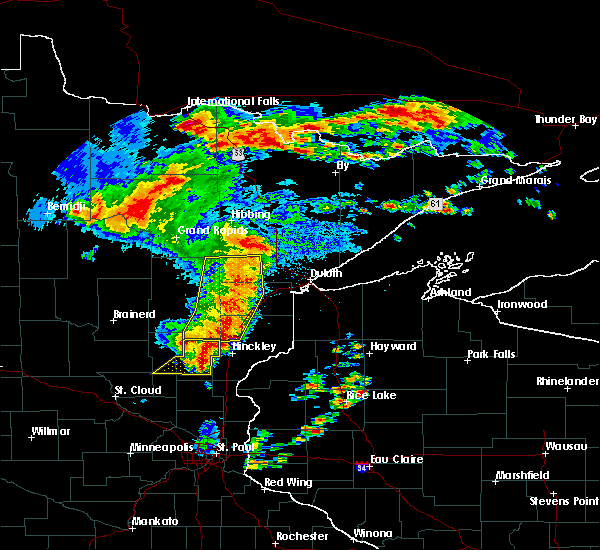 Radar Image for Severe Thunderstorms near Ogilvie, MN at 6/30/2018 3:00 AM CDT