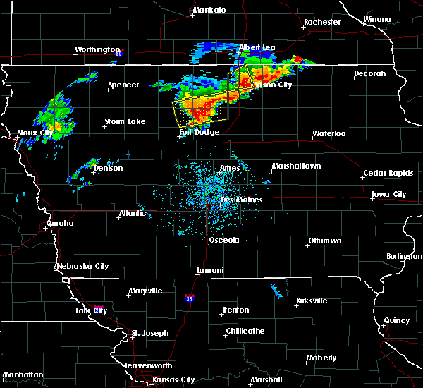 Radar Image for Severe Thunderstorms near Portland, IA at 6/30/2018 2:49 PM CDT