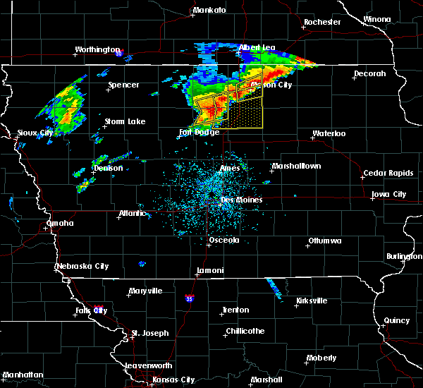 Radar Image for Severe Thunderstorms near Portland, IA at 6/30/2018 3:05 PM CDT
