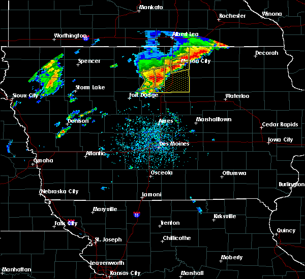 Radar Image for Severe Thunderstorms near Rockwell, IA at 6/30/2018 3:07 PM CDT