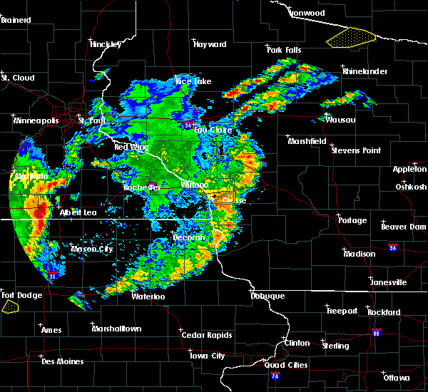 Radar Image for Severe Thunderstorms near St. Joseph, WI at 6/30/2018 5:34 PM CDT