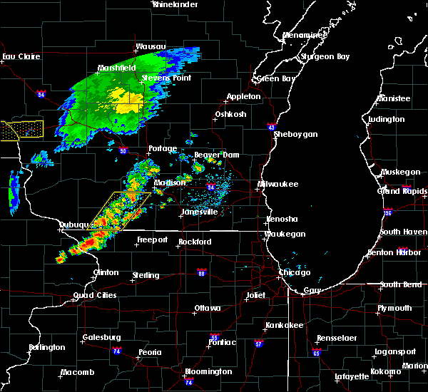 Radar Image for Severe Thunderstorms near Browntown, WI at 6/30/2018 7:59 PM CDT