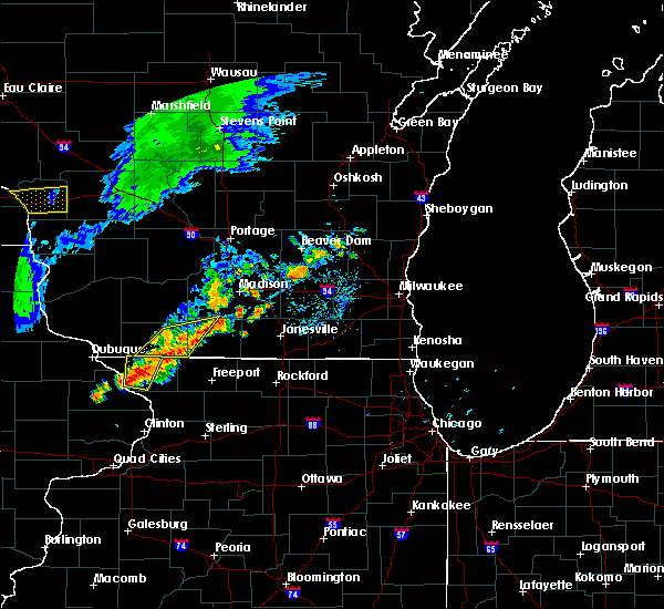 Radar Image for Severe Thunderstorms near Browntown, WI at 6/30/2018 8:12 PM CDT