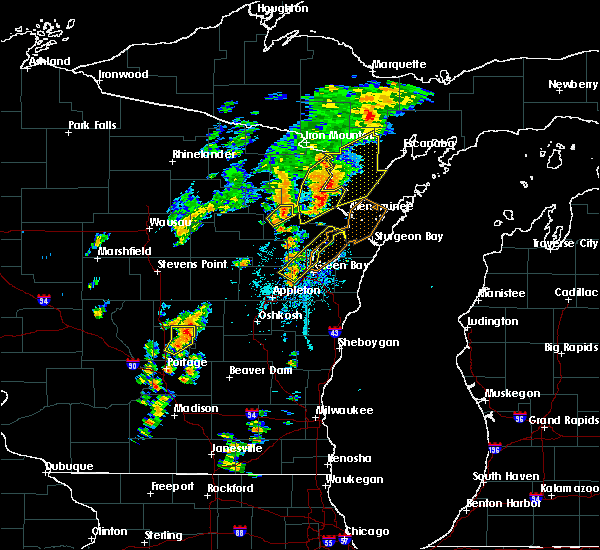 Radar Image for Severe Thunderstorms near Howard, WI at 7/1/2018 1:41 PM CDT