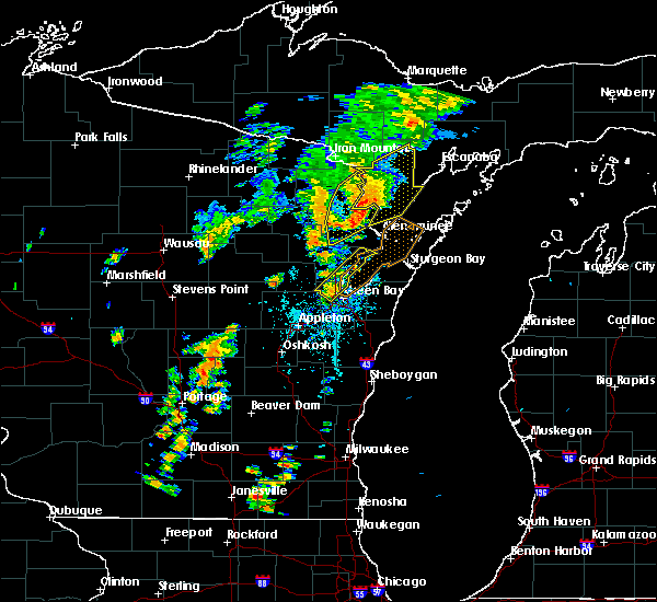 Radar Image for Severe Thunderstorms near Howard, WI at 7/1/2018 1:53 PM CDT