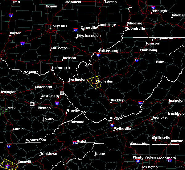 Radar Image for Severe Thunderstorms near Belle, WV at 7/1/2018 5:00 PM EDT