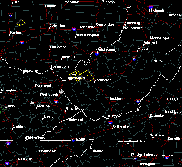 Radar Image for Severe Thunderstorms near Athalia, OH at 7/1/2018 6:10 PM EDT